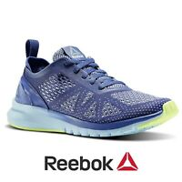 Reebok Women's Print Smooth Clip Ultraknit Running Shoes Trainers Gym Free Post