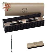 Parker Vector Stainless Steel Trim Fountain Pen with Medium Nib Gift Boxed NEW