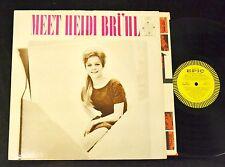 SCARCE LP Heidi Bruhl Epic 51976 Meet Heidi Bruhl