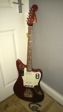 fender jaguar old candy red made in japan limited run guitar