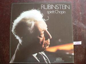 chopin rubinstein   LP Vinyl  (1354)