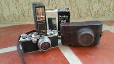 Vintage Leica DRP 35mm Camera Ernst Leitz Wetzlar No 295846 Summar Lens & Case