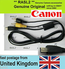 Genuine Original Canon AV cable IXUS 190 185 180 182 175 170 165 160 265 HS