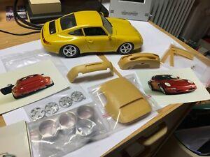 Burago PORSCHE mit  Transkit Carrera 911 und 356 B in 1:18 Modell!