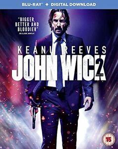 John Wick: Chapter 2 [Blu-ray + Digital Download] [2017] [Region Free] [DVD]