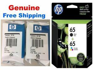 HP 65 Genuine Black & Color ink HP65 Combo Ink Cartridges New exp 2021