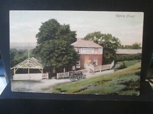 VINTAGE REAL POSTCARD Epping Forest Collier Brothers Fine Ale 1907?