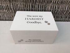 Personalised In Memory Of Box Loved One GRANDMA NANA any Name Bereavement Loss