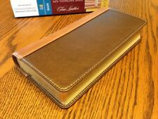BRAND NEW! 1984 NIV REFERENCE BIBLE Trimline/Thinline  Genuine Cowhide LEATHER