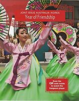 2011 PRESENTATION STAMP PACK 'JOINT WITH KOREA - YEAR OF FRIENDSHIP' MINI SHEET