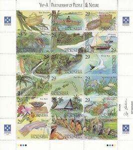 Mikronesien / Micronesia Nr. 319-336** Partnerschaft zwischen Mensch und Natur