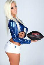 DALLAS COWBOYS sexy NFL CHEERLEADER ~ 4x6 GLOSSY PHOTO ~ hot candid (#BB482)