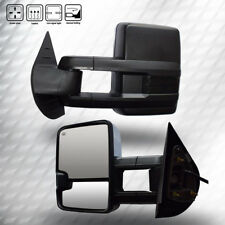 Pair Tow Mirrors Fit For 2008-2013 Chevy/GMC 07 Silverado/Sierra New Body Style