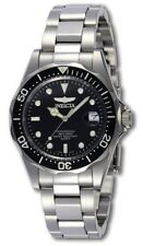 Invicta Men's 8932 Pro Diver Quartz 3 Hand Black Watch UPC 843836089326
