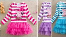 Peppa Pig Cotton Dresses for Girls
