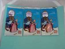 Set of 3 Pro Set Beauty and the Beast Sealed Packs 1992