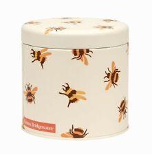 More details for emma bridgewater bees metal storage round tin with string - garden flower bird