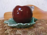 Vintage Nelson McCoy Apple On Leaf Planter *Must See MINT*