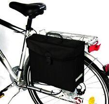 Schwarze Fahrrad Radtasche Gepäcktasche Fahrradtasche Seitentasche Seiten Tasche