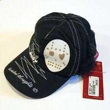 New Era 59Fifty Cap Horror Movie Friday The 13th Jason Woodland camo Black New