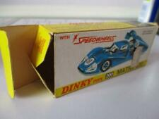 DINKY TOYS 200 SPEEDWELLS MATRA 630 F1 RACING CAR DIECAST MECCANO BOX ONLY