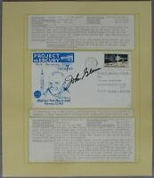 s1206) Raumfahrt Space - Project Mercury 10th Anniversary - John Glenn Autograph