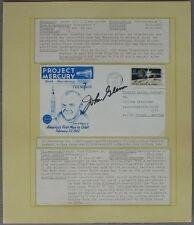 S1206) spatiale Space-Project Mercury 10th Anniversary-John Glenn autograph