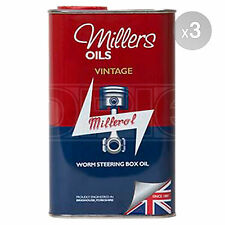 Millers Oils Vintage Worm Steering Box Oil - 3 x 1 Litre 3L