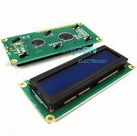 10pcs2014 1602 16x2 HD44780 Character LCD Display Module LCD blue blacklight Top