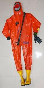Drager R29322 Chimique Protection Suit / Sécurité Suit (Taille: XL)
