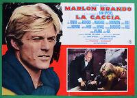 T37 Fotobusta the Hunting Marlon Brando Jane Fonda Robert Redford Dickinson 2