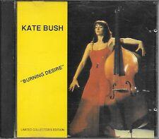 "KATE BUSH - RARO CD PROMO LIMITED COLLECTOR'S EDITION 1989 "" BURNING DESIRE """