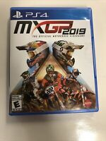 MXGP 2019 The Official Motocross Video Game (Sony PlayStation 4, 2019) PS4 VGC