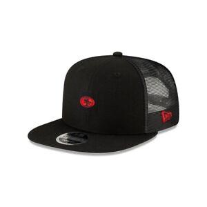 Men's San Francisco 49ers Coaches Sideline 950 Snapback New Era Cap Hat Black