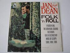 JAN & DEAN FOLK 'N ROLL VINYL LP ORIGINAL 1965 LIBERTY RECORDS LRP-3431, MONO