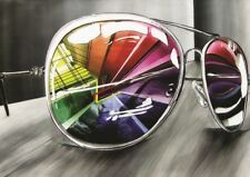 Ray Bans Lunettes de soleil A3 poster print GZ1198