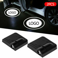 1Pair Wireless Car LED Door Welcome Projector Logo Ghost Shadow Laser Light XY-2