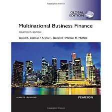 Multinational Business Finance, Global Edition by David K. Eiteman, Arthur I....