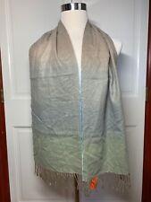 Croft & Barrow Dress Scarf w/ Fringe, Multicolor - NEW