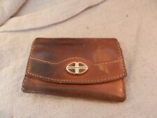 Vintage Bosca Leather Change / Coin Purse