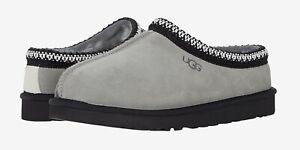 NEW UGG Brand  Mens Tasman Mashup Slipper Shoes Sandals Grey Seal Chestnut Red