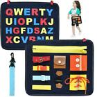 Toddler Busy Board Montessori Basic Skills Board Educational Learning Toys Kid