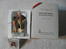 Norman Rockwell Big Moment Granpa & Puppy Xmas Gift Dave Grossman Figurine Mint
