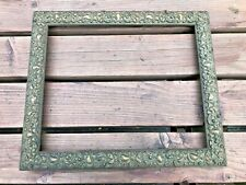 More details for very ornate art nouveau style picture frame !