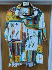 """Jams World Men's Vintage """" Sahara"""" Hawaiian Shirt - Large"""