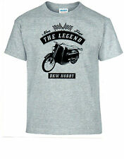T-shirt DKW Hobby Bike Motorcycle Youngtimer Oldtimer 2xl Grey