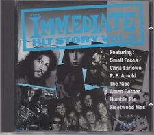 """The """"Immediate"""" Hit Story V2 """"Various"""" NEW CD (Small Faces, Chris Farlowe, Nice)"""