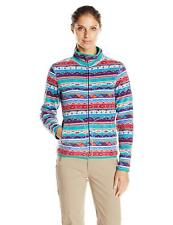 White Sierra Women's Alpha Tek Printed Jacket, Mint Combo, Medium