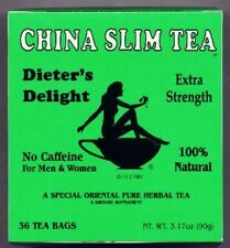 Lose Weight with China Slim Natural Herbal Diet Tea.