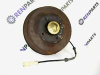Renault Clio II PH2 2001-02 Nearside Rear Brake Drum + Bearing Early Toothed ABS